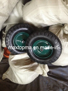 Poland Market Penumatic Rubber Wheel pictures & photos