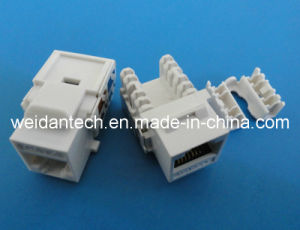 90 Degree CAT6 UTP Keystone Jack (WD6B-010) pictures & photos