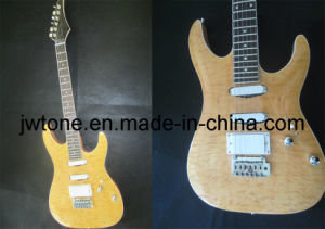 Quilted Maple Top Arched Top Electric Guitar pictures & photos