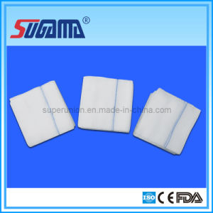 Super Absorbent Gauze Swab (Sterile and Non-sterile Available) pictures & photos