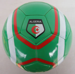 World Cup Soccer Ball, PVC Leather Machine-Sewn Soccerball Football pictures & photos
