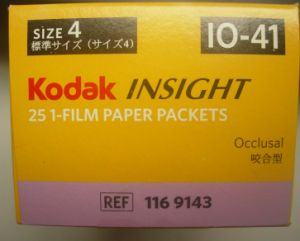Dental Material of Kodak Insight Occlusal X-ray Film pictures & photos