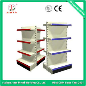 Ce Proved Double Sided Supermarket Shelf (JT-A01) pictures & photos