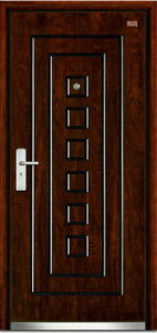 Steel-Wooden Door (LT-117) pictures & photos