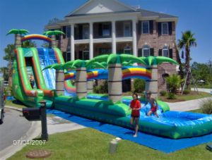 Inflatable Coco Water Slide