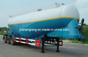 Bulk Cement Tank Semi Trailer/ 50m3 Tanker Trailer pictures & photos