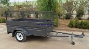Box Trailer with Cage 7 X 4 (TR0310) pictures & photos