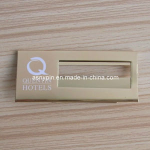 Hotel Magnet Name Plate Name Badge Name Card Insert pictures & photos