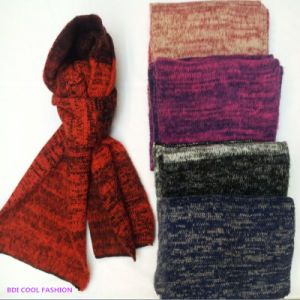Winter Fashion Acrylic Knitted Scarf (CYX-1429) pictures & photos