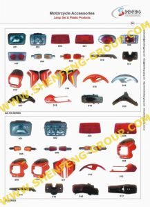 Motorcycle Accessories -Motorcycle Lamp Set & Plastic Products (GS-125,ZB)
