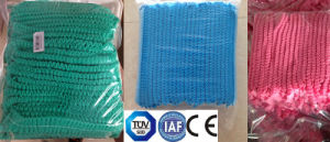 Mob Cap Non-Woven Clip Surgical Cap Disposable Medical Products for Hospital or Industry Kxt-Mc14 pictures & photos