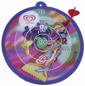 Chinese Rubber Refrigerator Magnetic Printable Dartboard pictures & photos