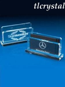Crystal 3D Laser-Crystal Card Holder (TL09073110)
