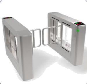 H322 Swing Turnstile High Speed RFID Card Reader Full Height Turnstile for Station Entrance