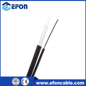 LSZH Jacket Self-Supporting Outdoor FTTH Cable 2 Core Fiber Optic Cable pictures & photos