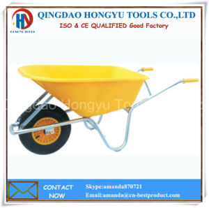 Europe Model Handle Wheel Barrow (WB-6414C) pictures & photos