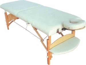 Wooden Massage Table (MT-006F) pictures & photos