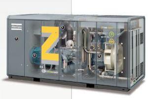Atlas Copco Oil Free Screw Air Compressor (ZT110FF ZT132FF ZT145FF) pictures & photos