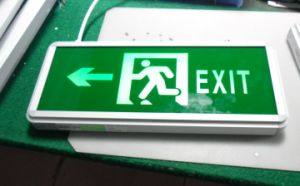 Emergency Exit Sign (QH8956)