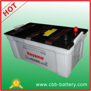 Big Size Dry Charged Truck Battery N200-200ah 12V pictures & photos