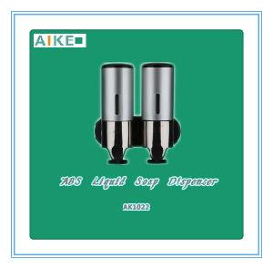 Manual Liquid Soap Dispenser (ABS, Double Tank, AK1022) pictures & photos