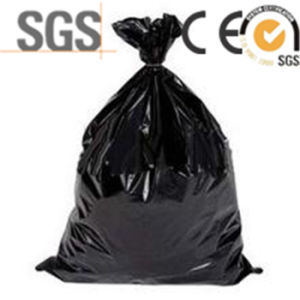 PE Draw-String Household Disposable Garbage Bags pictures & photos