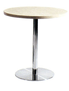 White Round Folding Table for Sale pictures & photos