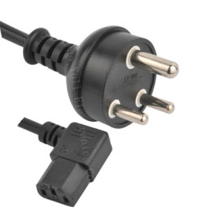 SABS Power Cords& Africa Electrical Outputs (N02B+ST3-W) pictures & photos