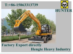 Hydraulic Wheeled Excavator (HTL120) pictures & photos
