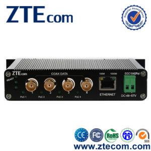 10/100/1000m Coax to RJ45 Converter Eoc Converter with 4X BNC Port and 1X Ethernet Port