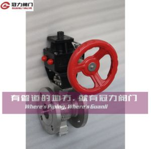 V Port Ball Valve for Water Treatment Industry pictures & photos