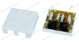 CAT6 UTP Dual Port Surface Mount Box pictures & photos