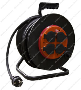 Euro Style Power Extension Cable Reel -30meter pictures & photos