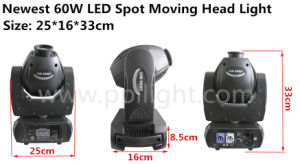 Update Version of Mini 60W LED Moving Head Spot Light pictures & photos