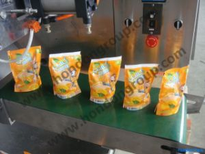 Automatic Stand-Pouch Filling and Sealing Machine pictures & photos