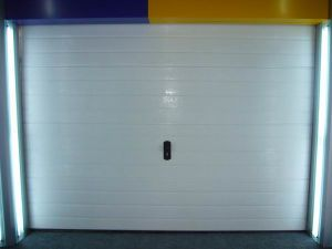 White Ribbed Garage Door (T: 40mm) pictures & photos