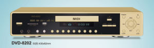 MIDI DVD Player With Karaoke (DV-8202)
