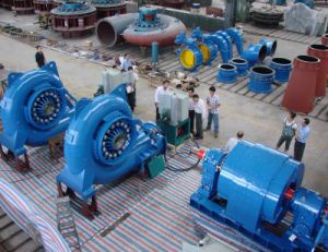 1MW Hydro Turbine Generator Unit / Water Turbine for Hydro Power pictures & photos
