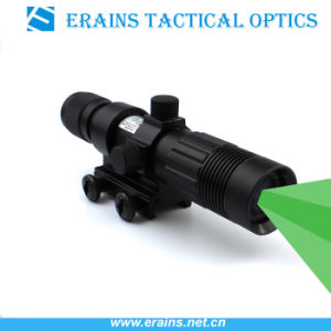 Night Vision Riflescope Solution Green Dazzling Laser Designator and Illuminator Flashlight Torch Sight with Wire Cable Switch and Scope Ring pictures & photos
