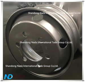 19.5X7.50 Tubeless Rim TBR Truck Steel Wheel with Ts16949/ISO9001: 2000 pictures & photos