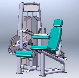 High Quality Indoor Sports Machine / Seated Leg Curl (SS06) pictures & photos