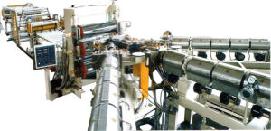 PE/PP/PS/HIPS/ABS Sheet Extrusion Line pictures & photos
