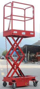 1.8m Semi-Electric Scissor Lifts Small One Jcpty1.8 pictures & photos