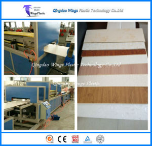 WPC Exterior Wall Panel / PVC Ceiling Board / WPC Decorative Plate Production Line pictures & photos