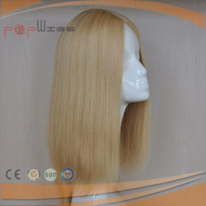 Blond Human Hair Hand Tied European Hair Full Lace Hotselling Wig pictures & photos