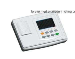Three Channels ECG Machine with Touch Screen pictures & photos