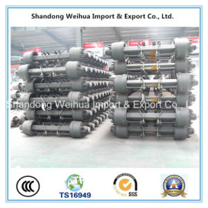 American Type Inboard Axle Jisheng Axle of Semi Truck Trailer Axle pictures & photos