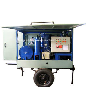 Interlocked Protective Modle Moveable Insulating Oil Purifier Device pictures & photos