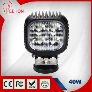 40W Offroad Driving Lights 3200lm LED Work Light pictures & photos