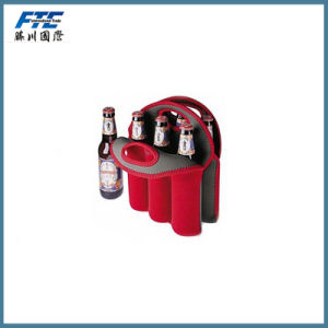 6-Pack Bottle Holder Cooler with Customized Logo pictures & photos